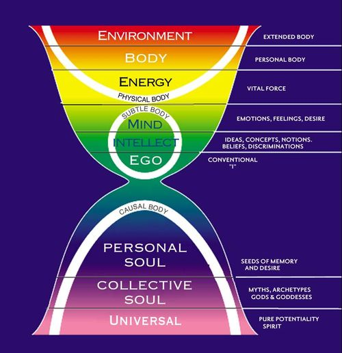 Layers of life model